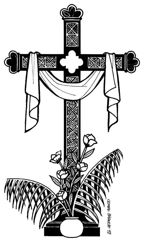 Atractivo Colorear Imágenes De Cruces Ornamento - Ideas Para ...